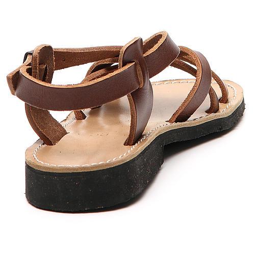 Franciscan Sandals in leather, model Samara 3