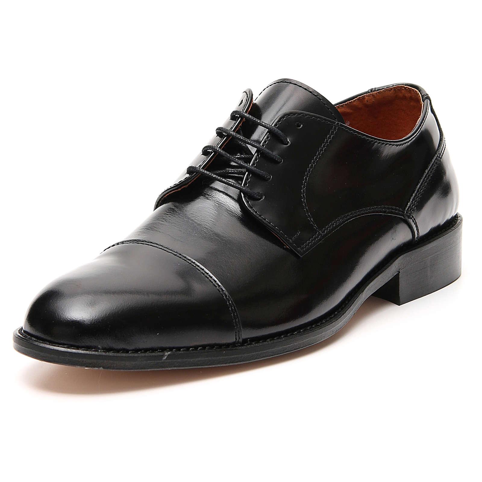 Sapatos couro verdadeiro abrasivato prato ponta reforçada 4