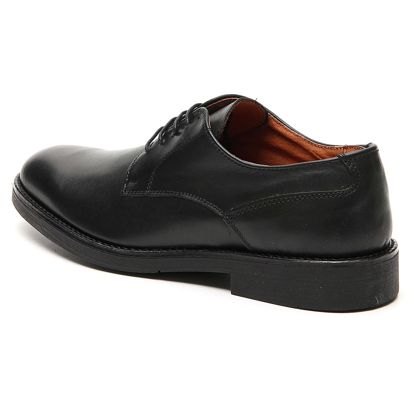 Scarpe vera pelle di vitello nero 4