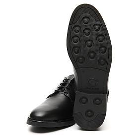 Sapatos couro verdadeiro de vitelo preto s6