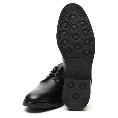 Sapatos couro verdadeiro de vitelo preto 6