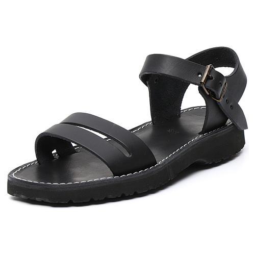 Benediktiner-Sandalen aus Leder Modell Bethléem hergestellt von den Mönchen von Bethlehem 10