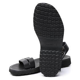 Benedictine sandals Bethléem model in hide Monks of Bethlehem s6