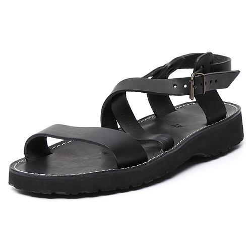 Benedictine sandals Bethléem model in hide Monks of Bethlehem 8