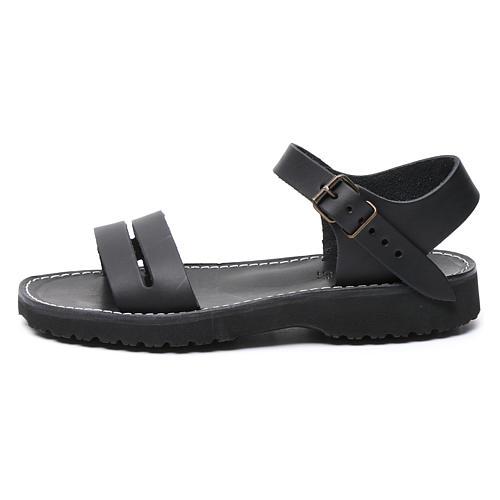Benedictine sandals Bethléem model in hide Monks of Bethlehem 1