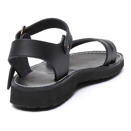 Benedictine sandals Bethléem model in hide Monks of Bethlehem 3