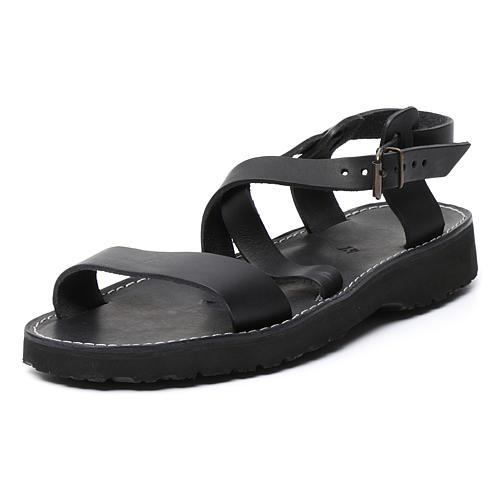 Sandales bénédictins cuir mod. Bethléem Moines Atelier 7