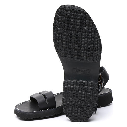 Sandales bénédictins cuir mod. Bethléem Moines Atelier 6