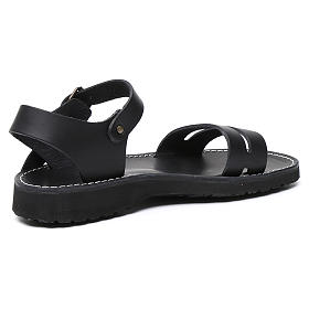 Benedictine sandals Bethléem model in hide Monks of Bethlehem s9