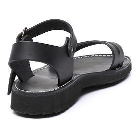 Benedictine sandals Bethléem model in hide Monks of Bethlehem s3