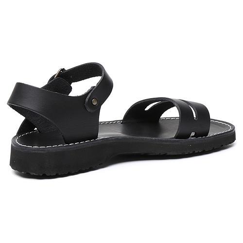 Benedictine sandals Bethléem model in hide Monks of Bethlehem 9