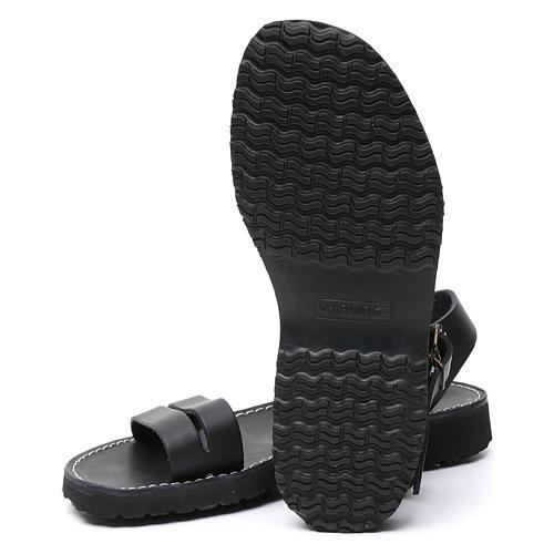 Benedictine sandals Bethléem model in hide Monks of Bethlehem 6