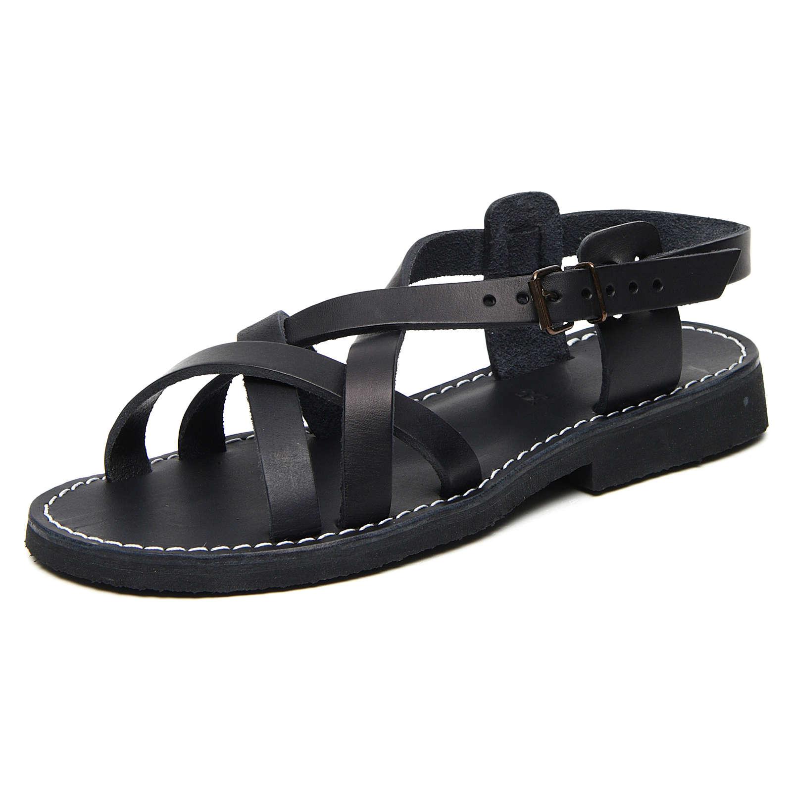 Sandales bénédictins cuir mod. Samara Moines de Bethléem 4