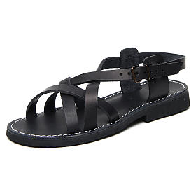 Sandales bénédictins cuir mod. Samara Moines de Bethléem s3