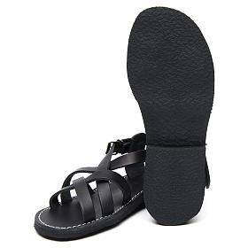 Sandales bénédictins cuir mod. Samara Moines de Bethléem s6