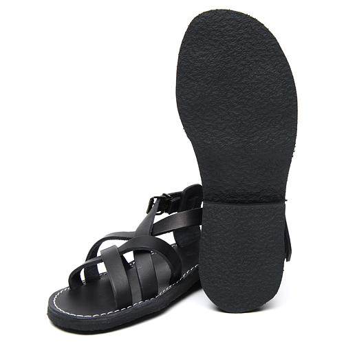 Sandales bénédictins cuir mod. Samara Moines de Bethléem 6