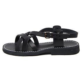 Benedictine sandals Samara model in hide Monks of Bethlehem s1