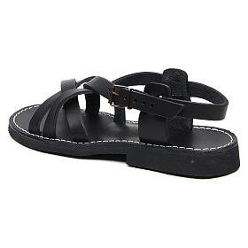Benedictine sandals Samara model in hide Monks of Bethlehem s2