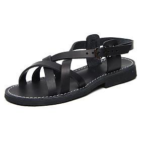 Benedictine sandals Samara model in hide Monks of Bethlehem s3