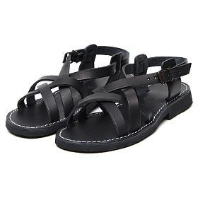 Benedictine sandals Samara model in hide Monks of Bethlehem s5