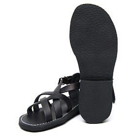 Benedictine sandals Samara model in hide Monks of Bethlehem s6