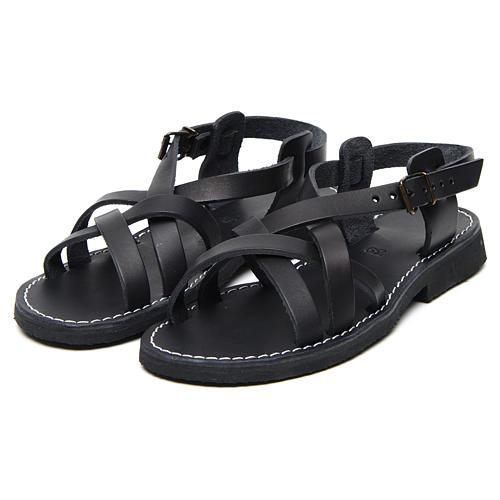 Benedictine sandals Samara model in hide Monks of Bethlehem 5