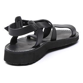 Sandales bénédictins mod. Nazareth cuir Moines de Bethléem s3