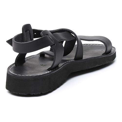 Sandales bénédictins mod. Nazareth cuir Moines de Bethléem 3