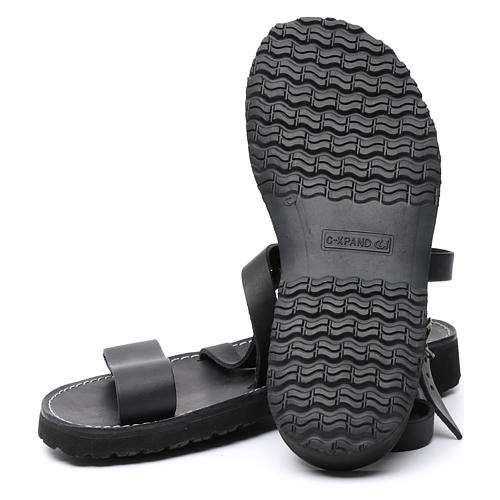 Sandales bénédictins mod. Nazareth cuir Moines de Bethléem 6
