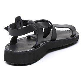 Benedictine sandals Nazareth model in leather Monks of Bethlehem s3
