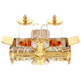 Ampolline croce oro argento s1