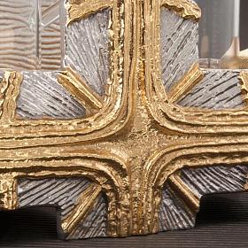Ampolline croce oro argento s2