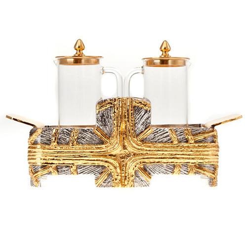 Ampolline croce oro argento 4