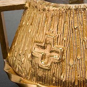 Cruet set gold-plated amphora s5