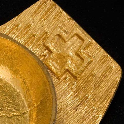 Cruet set gold-plated amphora 6