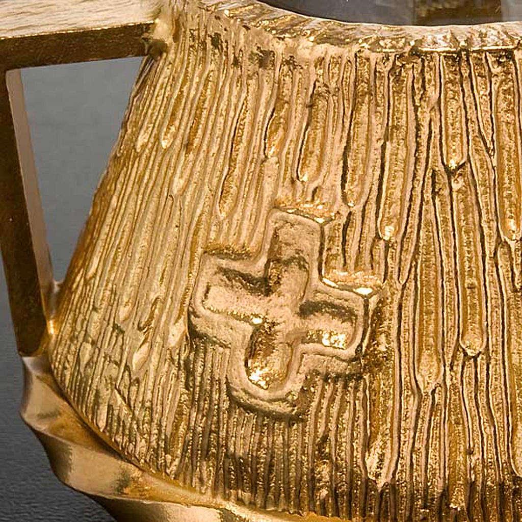 Cruet set gold-plated amphora 4