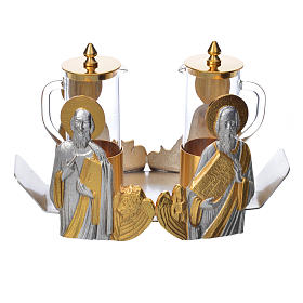 Mass cruet set Evangelists busts s15