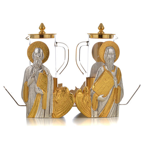 Mass cruet set Evangelists busts 6