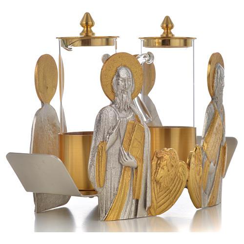 Vinajeras bustos Cuatro Evangelistas 7