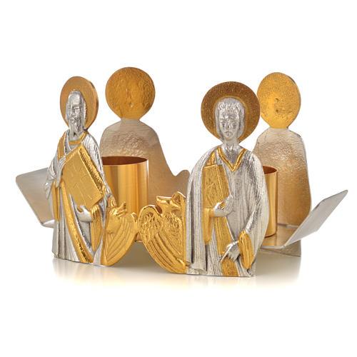 Vinajeras bustos Cuatro Evangelistas 9