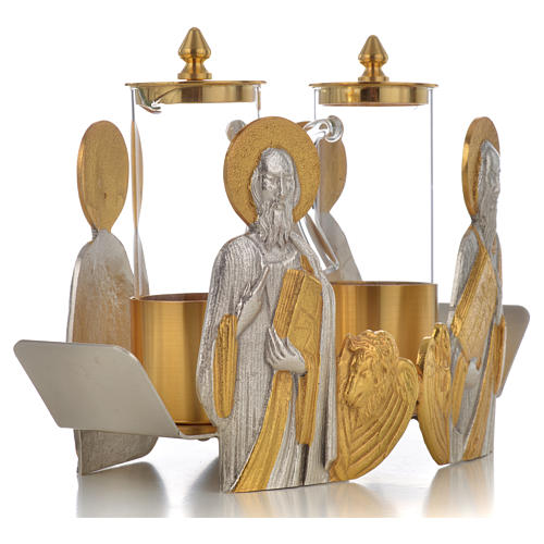 Mass cruet set for mass Evangelists busts 7