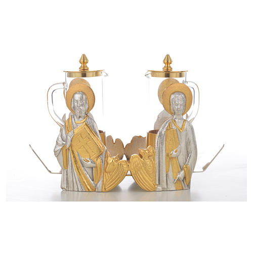 Mass cruet set for mass Evangelists busts 11