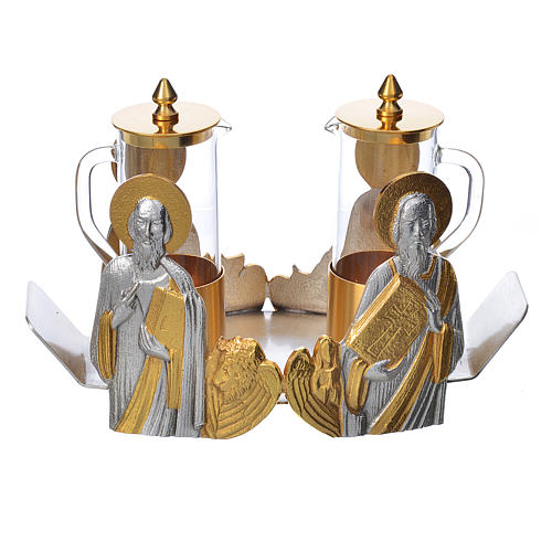 Mass cruet set for mass Evangelists busts 1