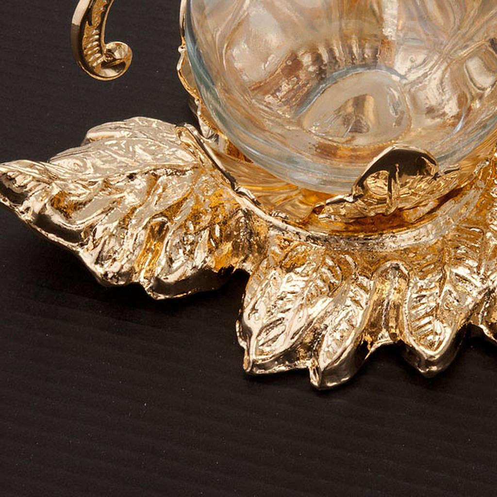 Burettes embrasse, métal, Fusione Vesuvio 4