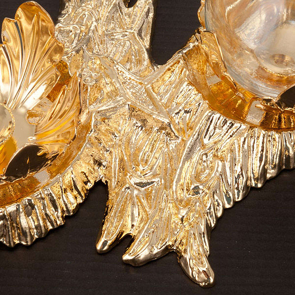 Burettes embrasse, métal, Fusione Stromboli 4