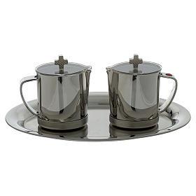 Ampolle in acciaio INOX manico metallo s1