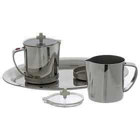Ampolle in acciaio INOX manico metallo s3