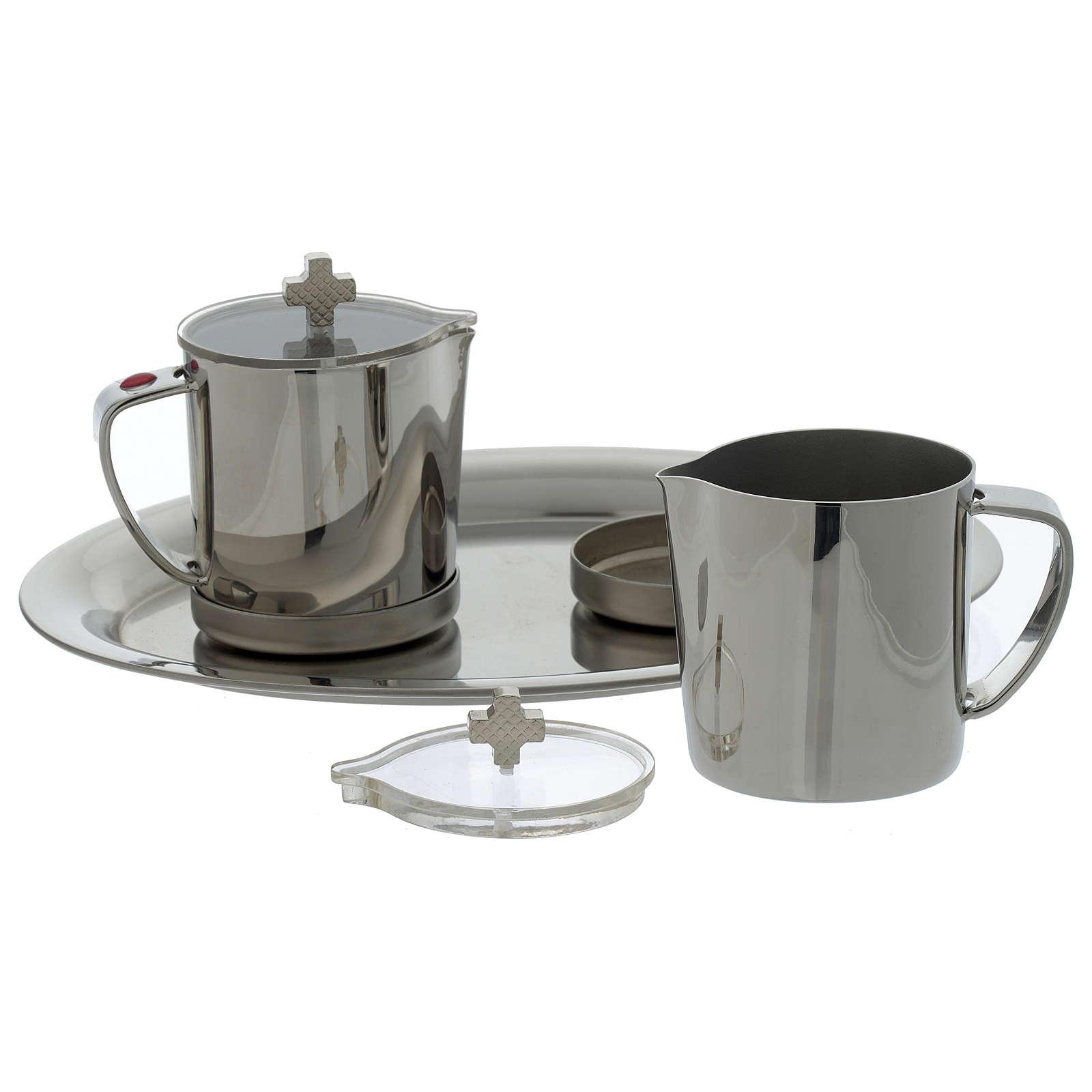 Stainelss steel cruets for mass metal handle 4