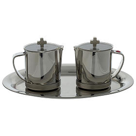 Stainelss steel cruets for mass metal handle s1