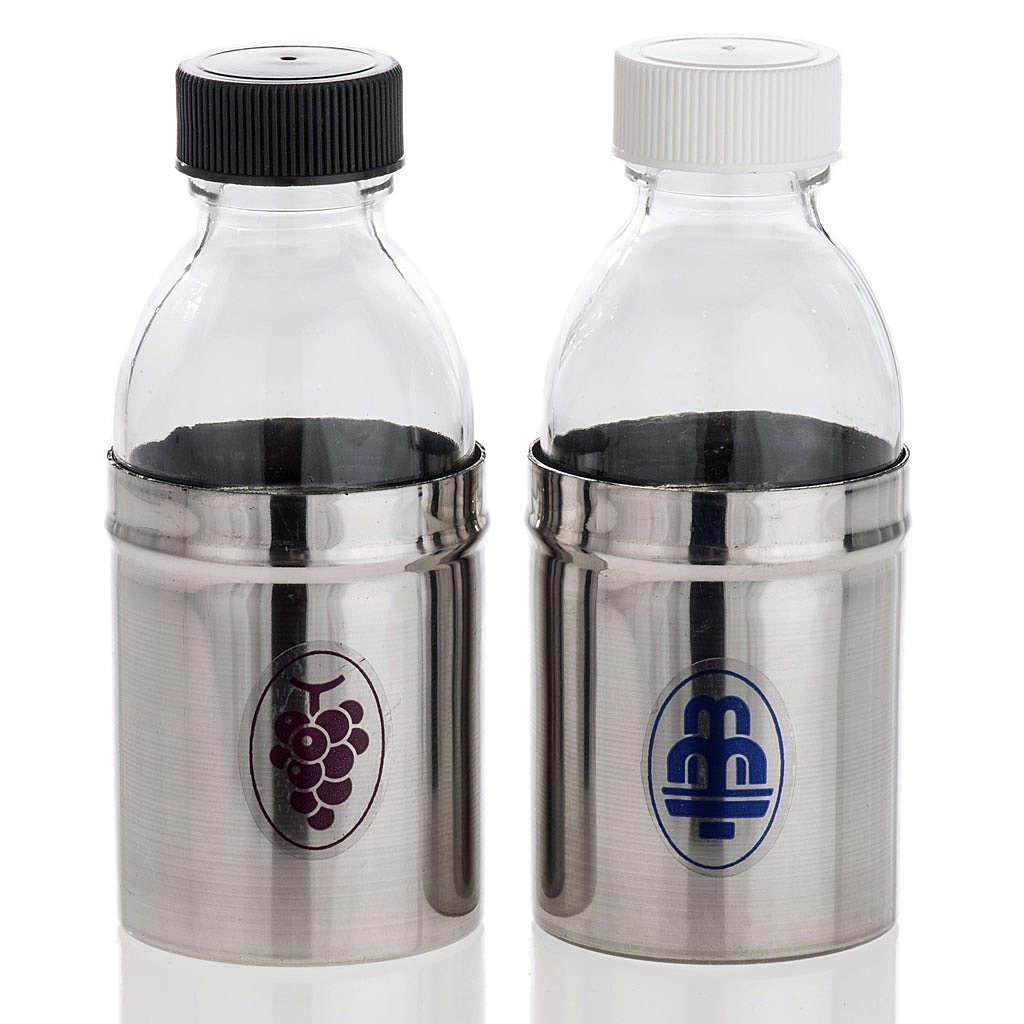 Bouteilles hermétiques pour eau et vin de messe 4